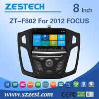 ZESTECH Car DVD GPS Player 3G Navigation Radio RDS For 2012 2013 Ford Focus Free camera