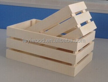 small cheap used wood material fruit crates