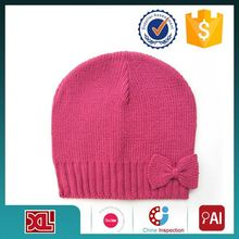 Best selling strong packing winter knitted hat knitted children cap wholesale