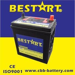Direct Factory 12V Battery 36AH Korea Designed Calcium Lead Acid MF JIS Car Battery --38B20RMF