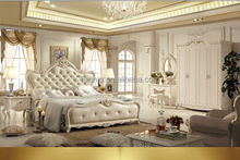 Dubai wooden home furniture / luxury and elegant wood bedroom furniture HF09