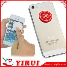 YS095 custom logos microfiber sticky mini phone wipe