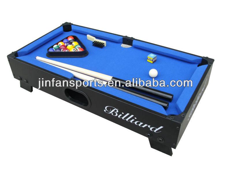 Mini piscina de billar de mesa para ni os de tapa de la for Mesa de billar para ninos