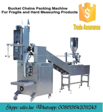 Multi function chains buckets packing machine with nitrogen flushing
