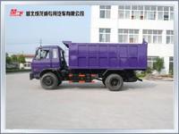 8 ton 4x2 Dongfeng 6 wheel dump truck