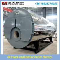 Gas fired high efficiency condensing cast-iron boilers