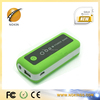 Promotional Universal Portable Power Bank 5200mah for mobile phone