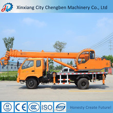 SMALL MODEL 5 TON TRUCK CRANES WITH CERTIFICATION