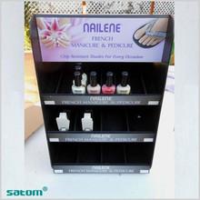 wholesale hot sale acrylic stair shape cosmetic nail polish organizer
