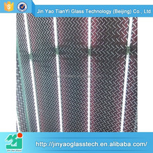 new products textured tempered glass