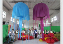 Color changing LED lighting Inflatable jellyfish balloon cheap inflatable Jellyfish
