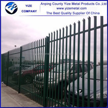 Cheap ornamental cast iron fence/Palisade Fence for home garden/palisade fence