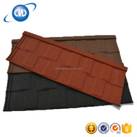 GKR-F3 Hot Sale Natural Building Stone Coated Steel Roofing Tiles/Roofing Material