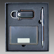 Business Gift Set New Leather Pen and Card Holder Great Boxed Gift Set