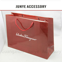 Creative colorful kraft paper bag with handle extension low cost paper bag cosmetic cost production paper bag