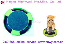 Feline Frenzy with Scratch Pad Cat Grooming and Fun All in One