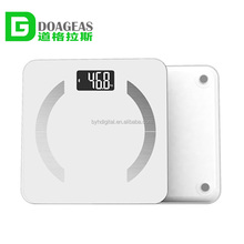 Professional body composition analyzer body fat scale with BMI