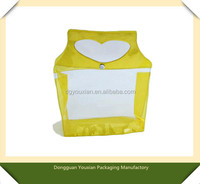 PVC button bag for promotion item , gift , toy , stationery series , swimming products