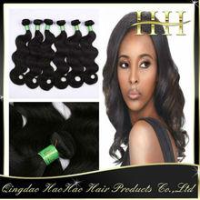 5A grade wholesale Cheap brazilian remy hair weaving 99j