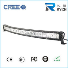 Best quality and waterproof mixed row led 264w curved c ree 50 inch car led light bar