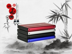Durable 2.5 inch USB2.0 HDD CASE Impact Resistant