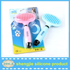 Pet and dog brush /Grooming Tool for Dog/Silicone Pet Hair Brush
