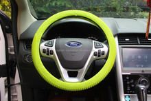 custom silicone design your car steering wheel cover