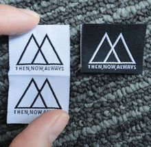 high quality made in china customized woven label requirements for garment