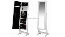 Holz-spiegelschrank, wohnzimmermöbel, standspiegel schmuck schrank