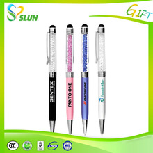Touch Screen Bling Stylus Diamond Stylus pen with swarovski crystal