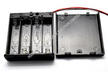 Battery box with switch, four fifth with lid 4 5th battery can be mounted with stroke 5