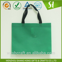 Cheap wholesale 80gsm nonwoven bag/reusable custom grocery shopping tote bag