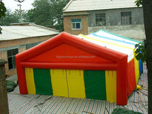 outdoor funny inflatable warehouse tent /giant tunnel house tent for warehouse use