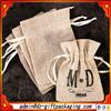 Natural Mini Linen Gift bag