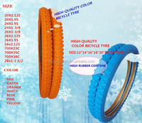 COLOR BYCYCLE TYRE 26X1.95 16x2.125