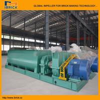 Booming!!! automatic brick machine DE double shaft clay mixer