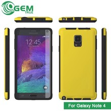 Slim protective with build-in screen protector case for Samsung Galaxy Note 4 N9100
