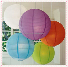 Chinese Hanging Round Paper Lantern for Family Meeting Room Decor