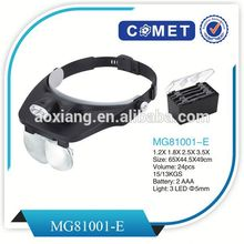 Newest customised magnifier,MG81001-E head visor magnifier