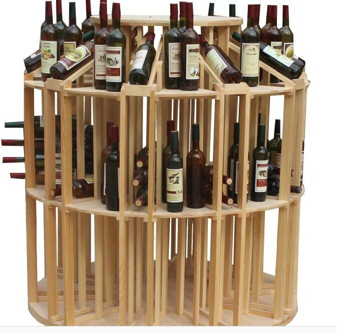 New design small space wooden wine rack or wooden wine holder buy wooden wine rack wooden wine Wine racks for small spaces pict