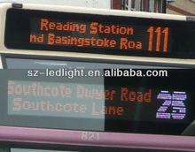 indoor led bus display for passenger information system