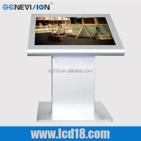 Standing Multi-Media Digital Signage Industrial Flat Panel Touch Screen All in One PC
