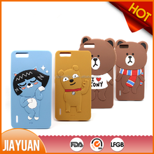 Cute 3D Animal Shaped Silicone Cell Phone Case Maker