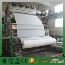 engineers design the professional scheme toilet tissue paper making machine price /paper machine with paper processing equipment