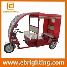 48V 800W electric tuk tuk for sale /electric passenger rickshaw/auto rickshaw for sale