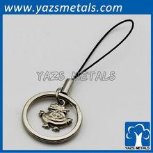 cheap metal custom pendant keychain