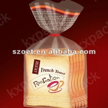 Factory directly selling High Clear plastic packaging poly bag, clear side gusset cello bag for bread, cookies, candy