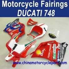 3 Layers Clear Coat For Ducati 748 ABS Motorcycle Bodykit FFKDU006