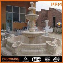 Garden fountains dancing 3 tier water fountain