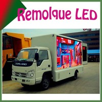 high quality P10 outdoor full color truck led display/ Outdoor advertising led sign/ outdoor video wall